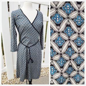 🆕Loft Spring Summer Wrap Midi Dress Size 4